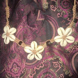 Jewelry - Cowrie Daisy Choker circa 2005